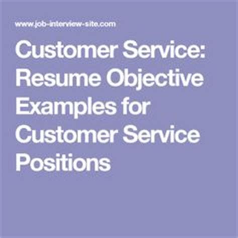 Customer Service Representative Resume Writing Tips